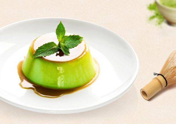 Cách làm bánh flan trà xanh ngon thơm ngon mà vô cùng đơn giản